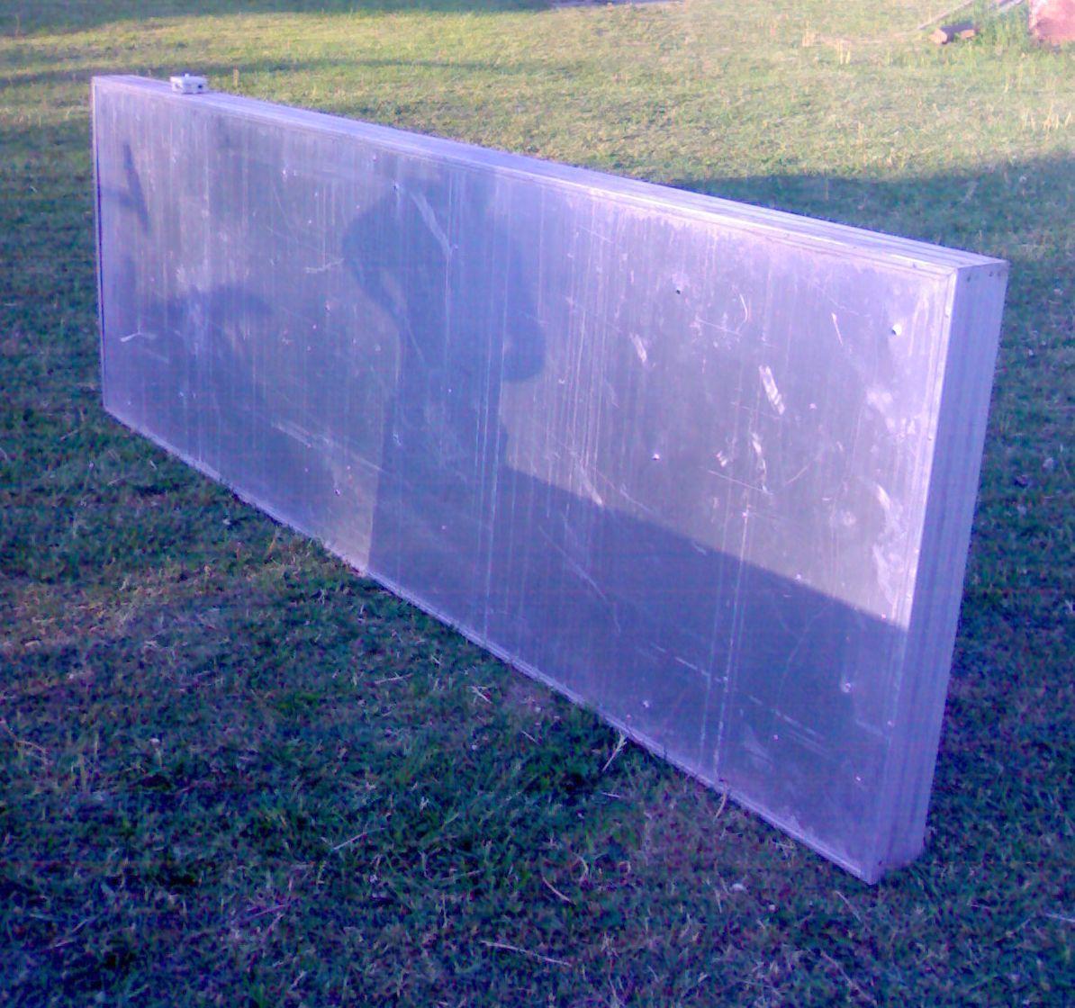 119a636b0ca müüa valguskast kasutatud. valguskast 3 m x 1 m