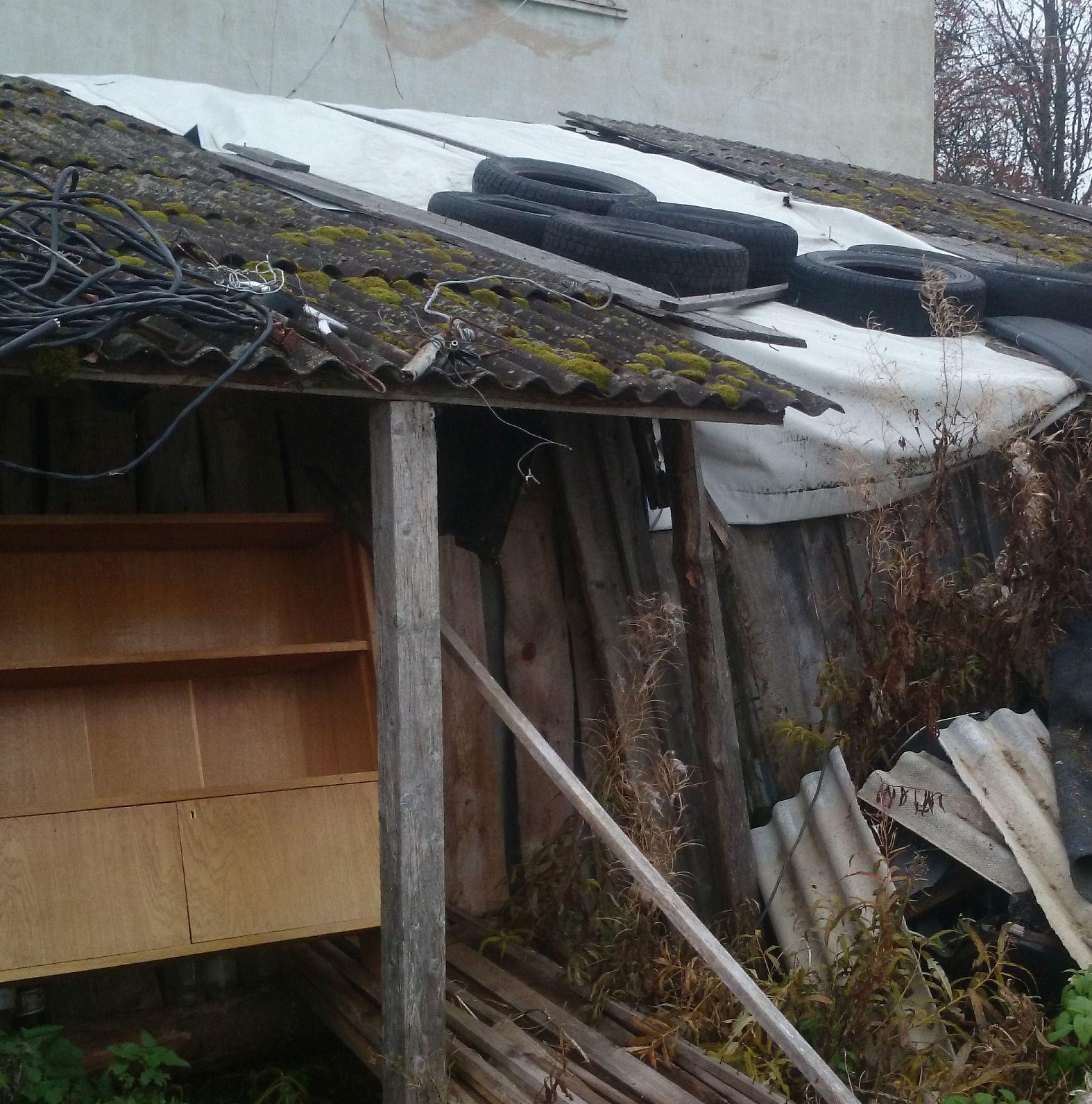 29ac6f73f9b PVC kasutatud riie kuuri või garaazi katmiseks